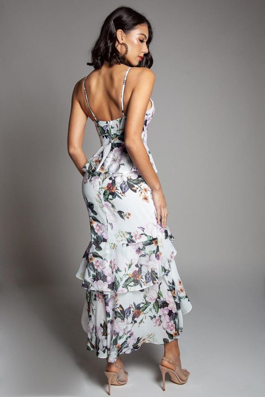 Latiste Floral Dress - Front Full Image