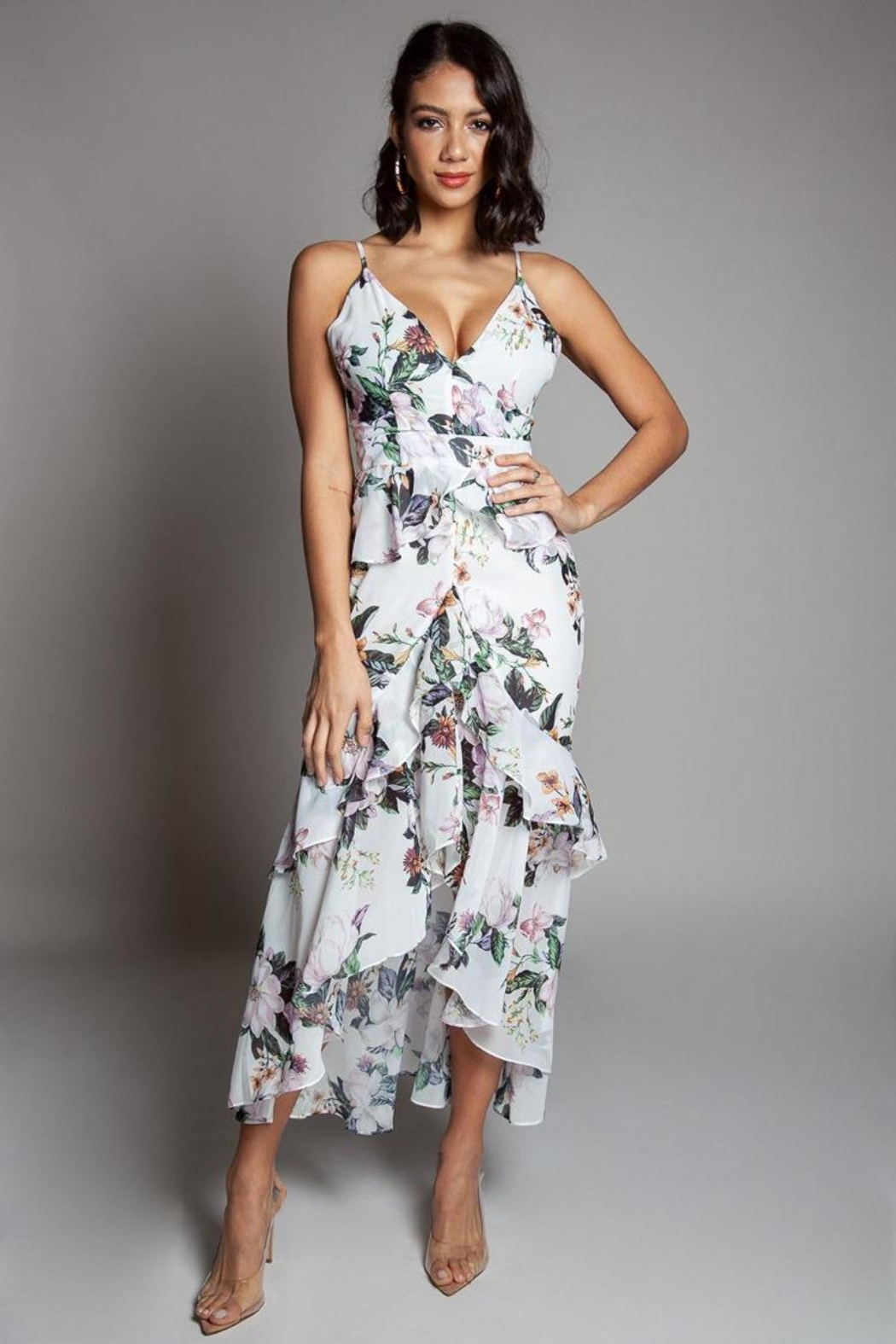 Latiste Floral Dress - Main Image