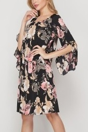 honeyme FLORAL DRESS - Front full body