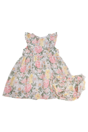Angel Dear Floral Dress and Diaper Cover - Product Mini Image