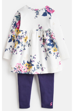 Shoptiques Product: Floral Dress and Leggings Set
