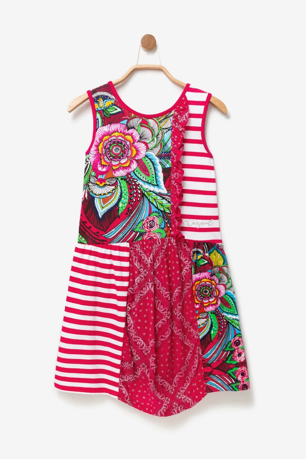 DESIGUAL Floral Dress Antananarivo - Side Cropped Image