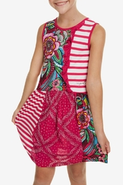 DESIGUAL Floral Dress Antananarivo - Front cropped