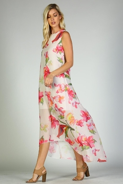 Racine Floral Dress Hi-Lo - Product List Image