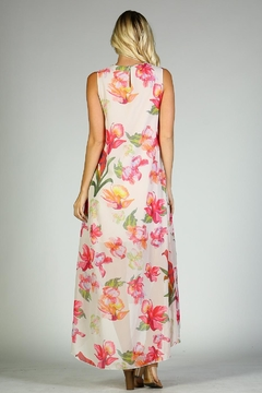 Racine Floral Dress Hi-Lo - Alternate List Image