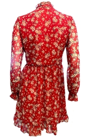Maryley Floral Dress Tie - Side cropped