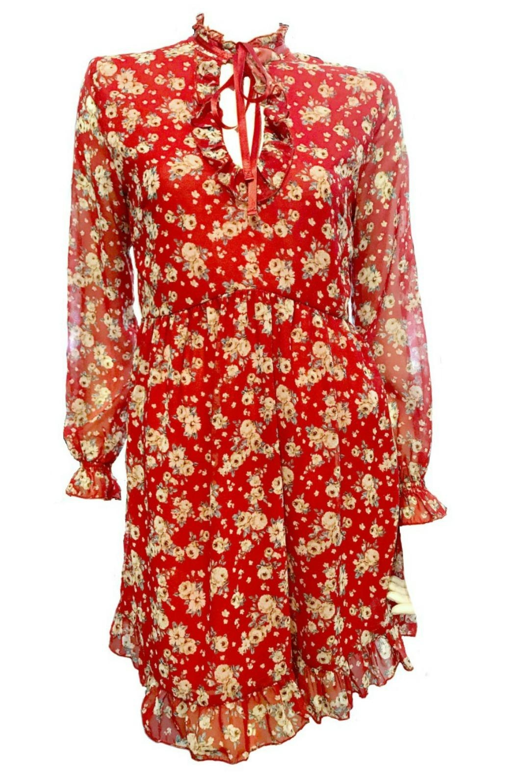Maryley Floral Dress Tie - Main Image
