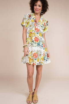 Ivy Jane  Floral Dress with Gathered Bust - Alternate List Image