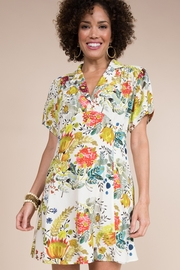 Ivy Jane  Floral Dress with Gathered Bust - Product Mini Image