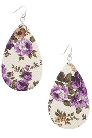 Wholesale Fashion Floral Drop Earrings - Product Mini Image