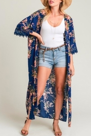 Jodifl Floral Duster - Product Mini Image