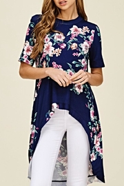 annabelle Floral Duster Tunic - Product Mini Image
