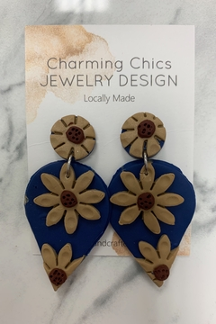 Charming Chics Floral Earrings - Alternate List Image