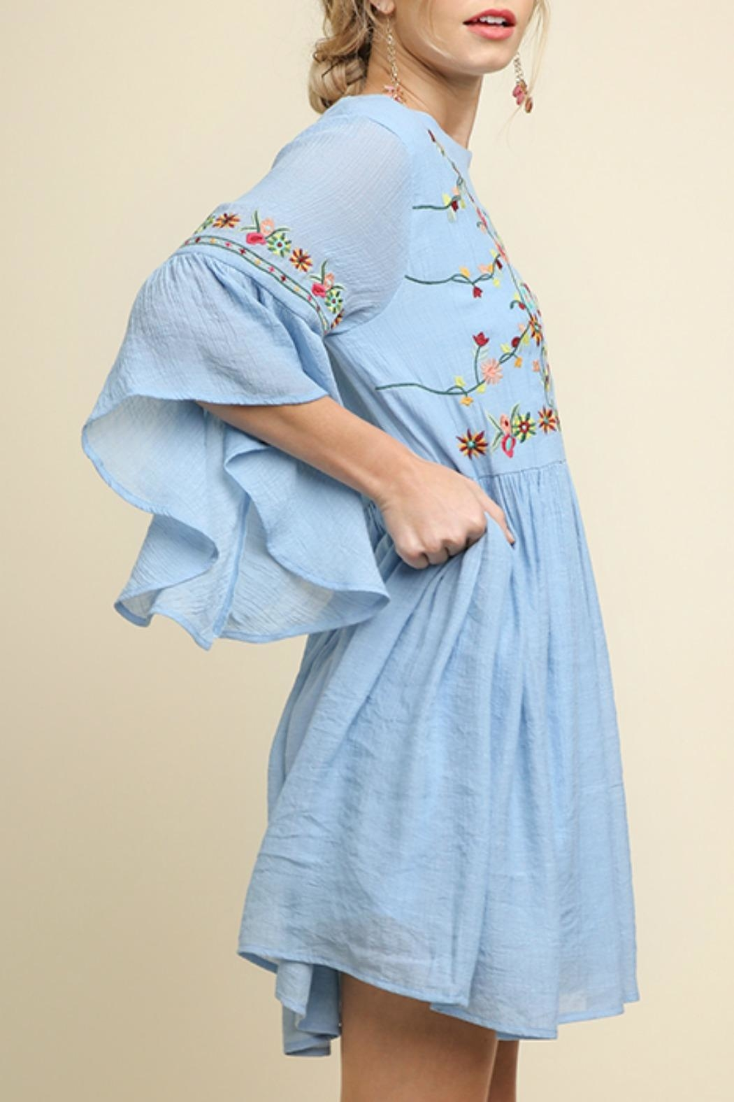 Umgee USA Floral Embroidered - Front Full Image
