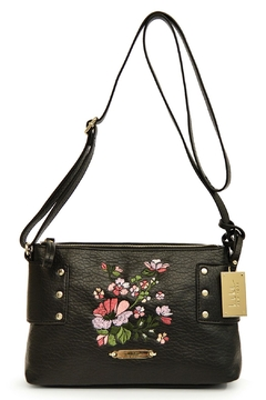 Nicole Miller Floral Embroidered Crossbody - Alternate List Image