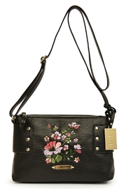 Nicole Miller Floral Embroidered Crossbody - Product Mini Image