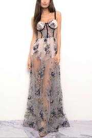 Blithe  Floral Embroidered Dress - Product Mini Image
