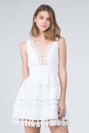 FANCO Floral Embroidered Dress - Product Mini Image