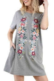 Modern Emporium Floral Embroidered Dress - Front cropped