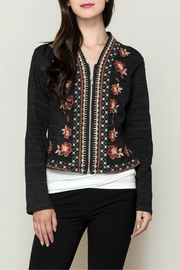 Monoreno Floral embroidered jacket - Product Mini Image