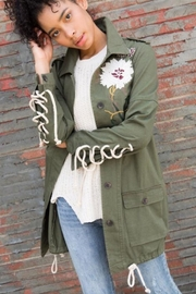 POL Floral Embroidered Jacket - Product Mini Image
