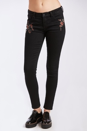 Others Follow  Floral Embroidered Pant - Product Mini Image