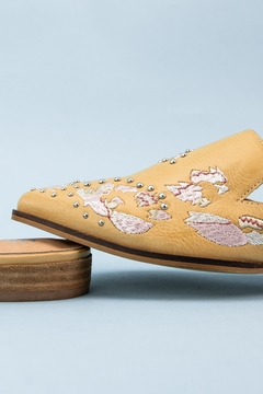 MiiM Floral Embroidered Pointed-Toe Mule - Product List Image