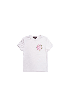 Imoga Floral Embroidered Tee - Alternate List Image