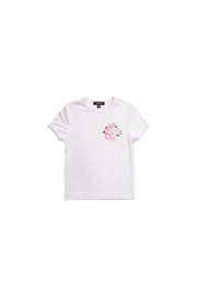 Imoga Floral Embroidered Tee - Front cropped