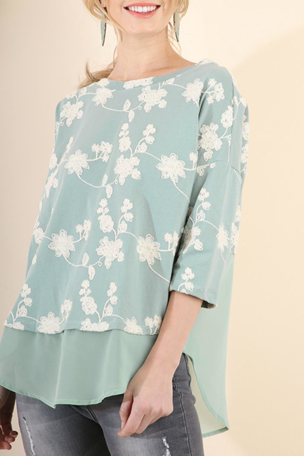 Umgee USA Floral Embroidered Tunic from Texas by BareTrees Boutique ...