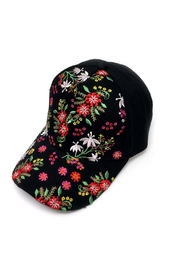JChronicles Floral Embroidery Hat - Product Mini Image