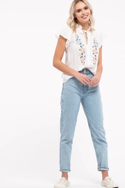 Mine Floral Embroidery Top - Other