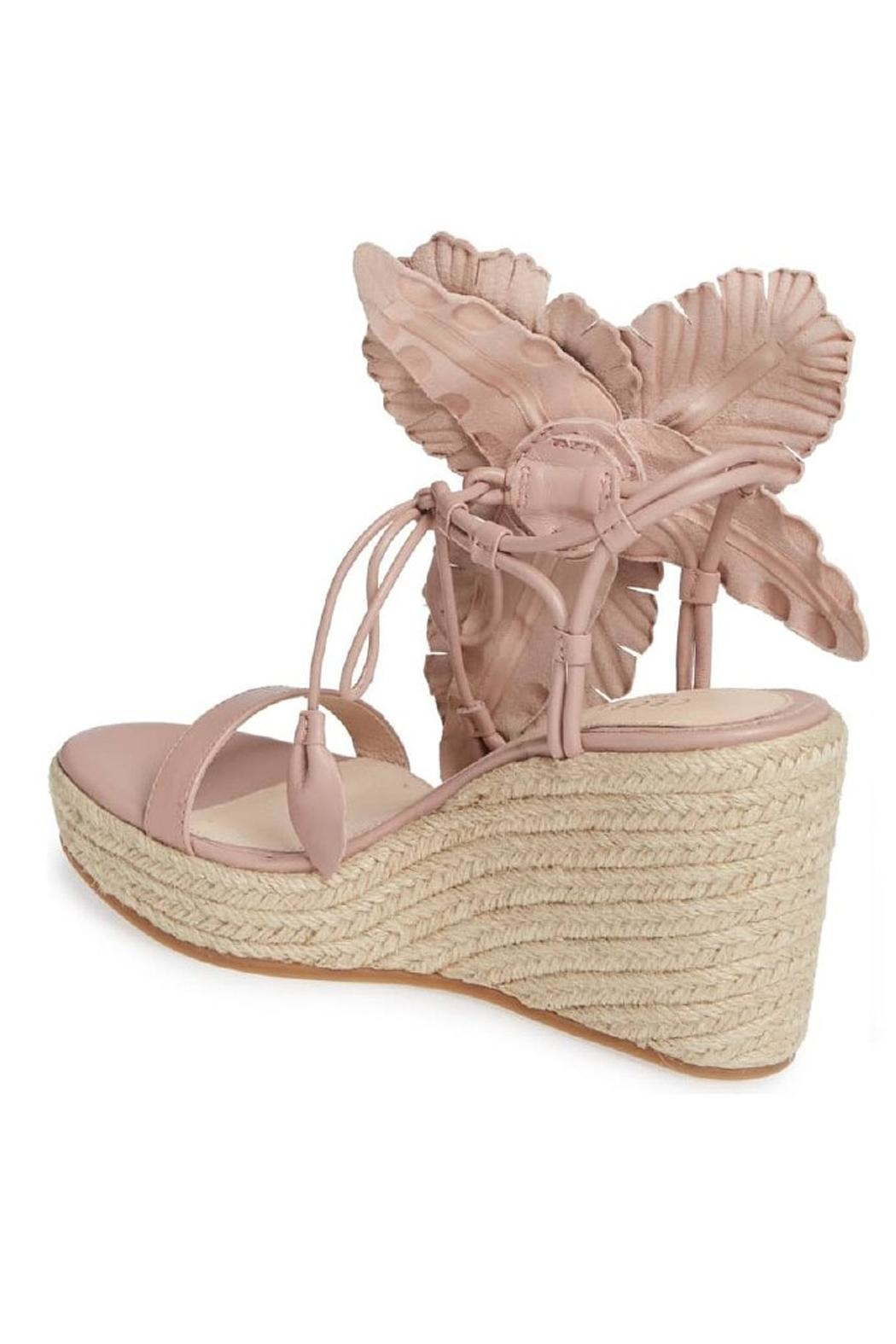 Cecelia New York Floral Espadrille Wedges - Front Full Image