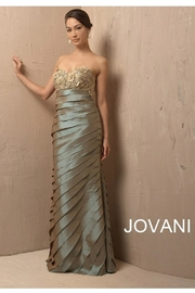 Jovani Floral Evening Gown - Product Mini Image