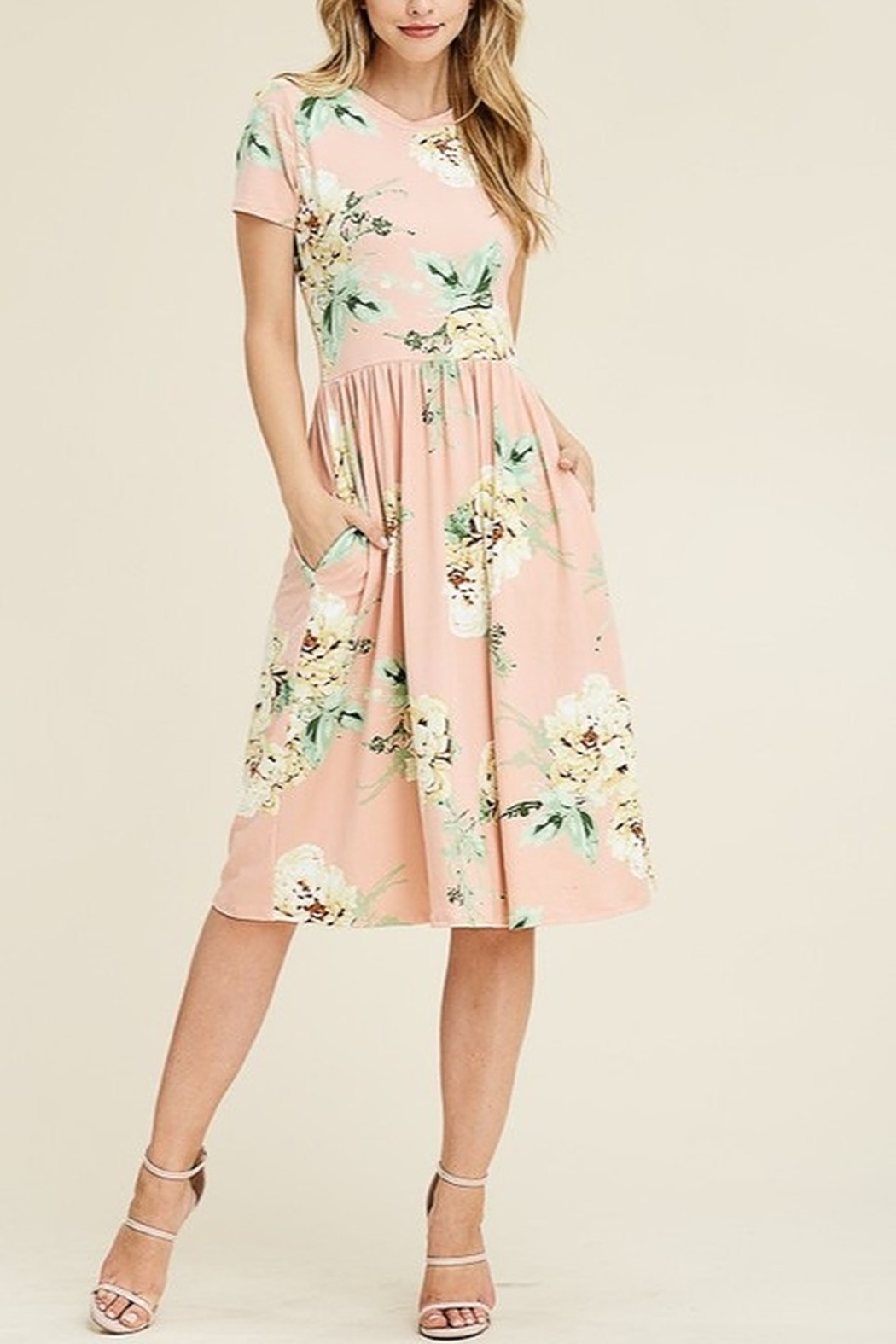 Lyn-Maree's  Floral Everyday Dress - Main Image