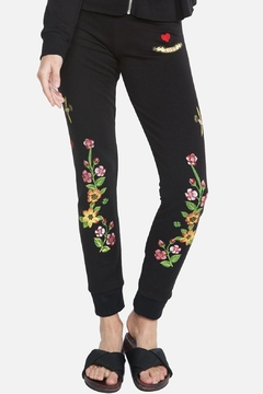 Lauren Moshi Floral Eye Bottoms - Product List Image