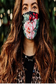 Johnny Was Collection Floral Face Masks - Product Mini Image