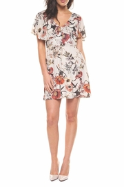 Black Tape Floral Fanatic Dress - Product Mini Image