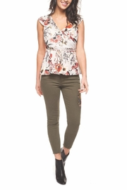 Black Tape Floral Fanatic Top - Product Mini Image