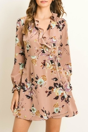 Gilli Floral Faux Wrap-Dress - Product Mini Image