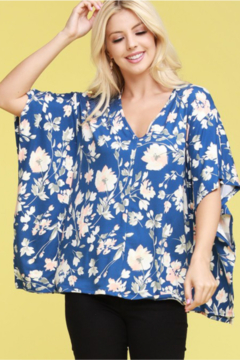 Ninexis Floral Fields Curvy Top - Product List Image