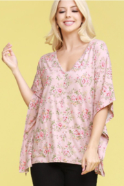 Ninexis Floral Fields Curvy Top - Product Mini Image