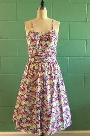 Retrolicious Floral Fields Dress - Product Mini Image
