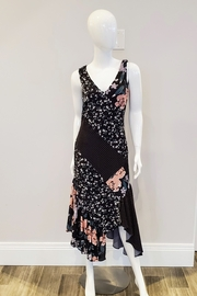 Forest Lily Floral Flamenco Dress - Product Mini Image