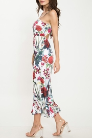 Latiste Floral Flare-Out-Leg Jumpsuit - Side cropped