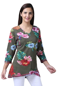Parsley & Sage Floral Flare Tunic - Product List Image