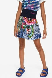 DESIGUAL Floral Flared Skirt Segur - Product Mini Image