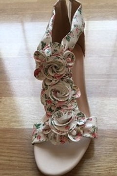 Spring Step  floral flower sandal - Alternate List Image