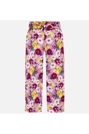 Mayoral FLORAL FLOWY PANT - Front cropped