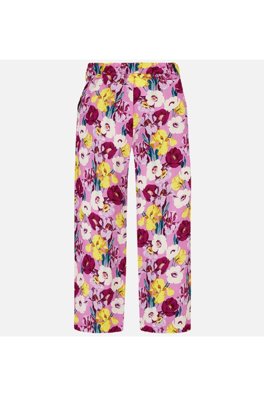 Mayoral FLORAL FLOWY PANT - Side Cropped Image